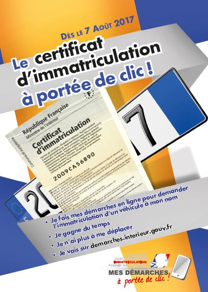 le certificat d immatriculation port e de clic ville de saubens. Black Bedroom Furniture Sets. Home Design Ideas