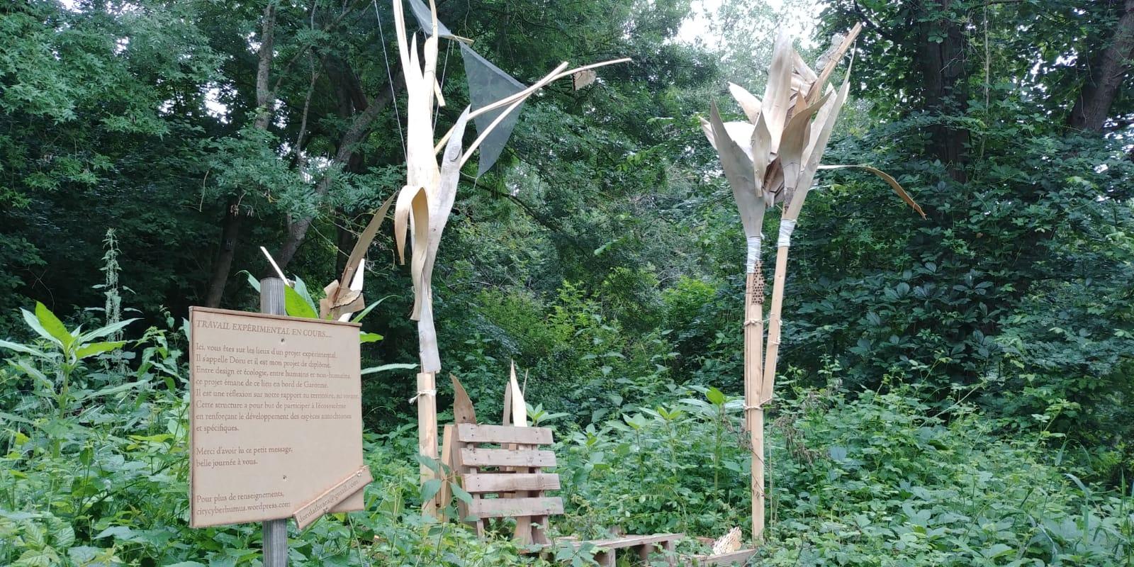 DORU : une sculpture saubenoise bien vivante