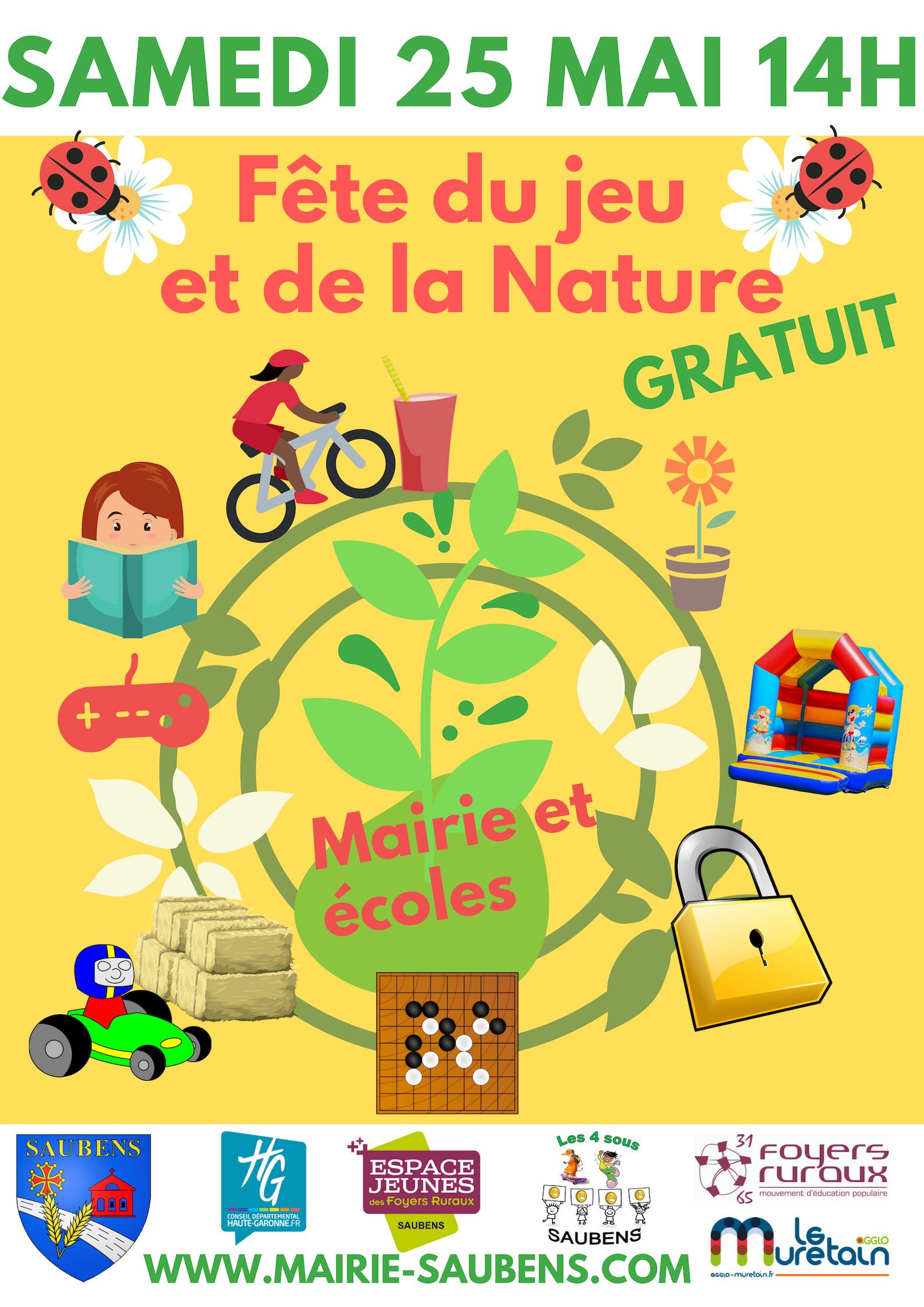 Fête du jeu et de la Nature