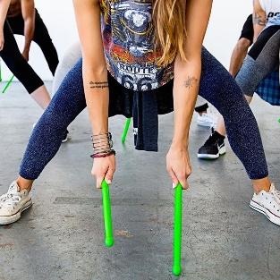 Nouveau: Cours de Pound Fit Dance