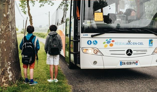 Retrait des cartes de bus au point accueil jeunes à partir du 21/08