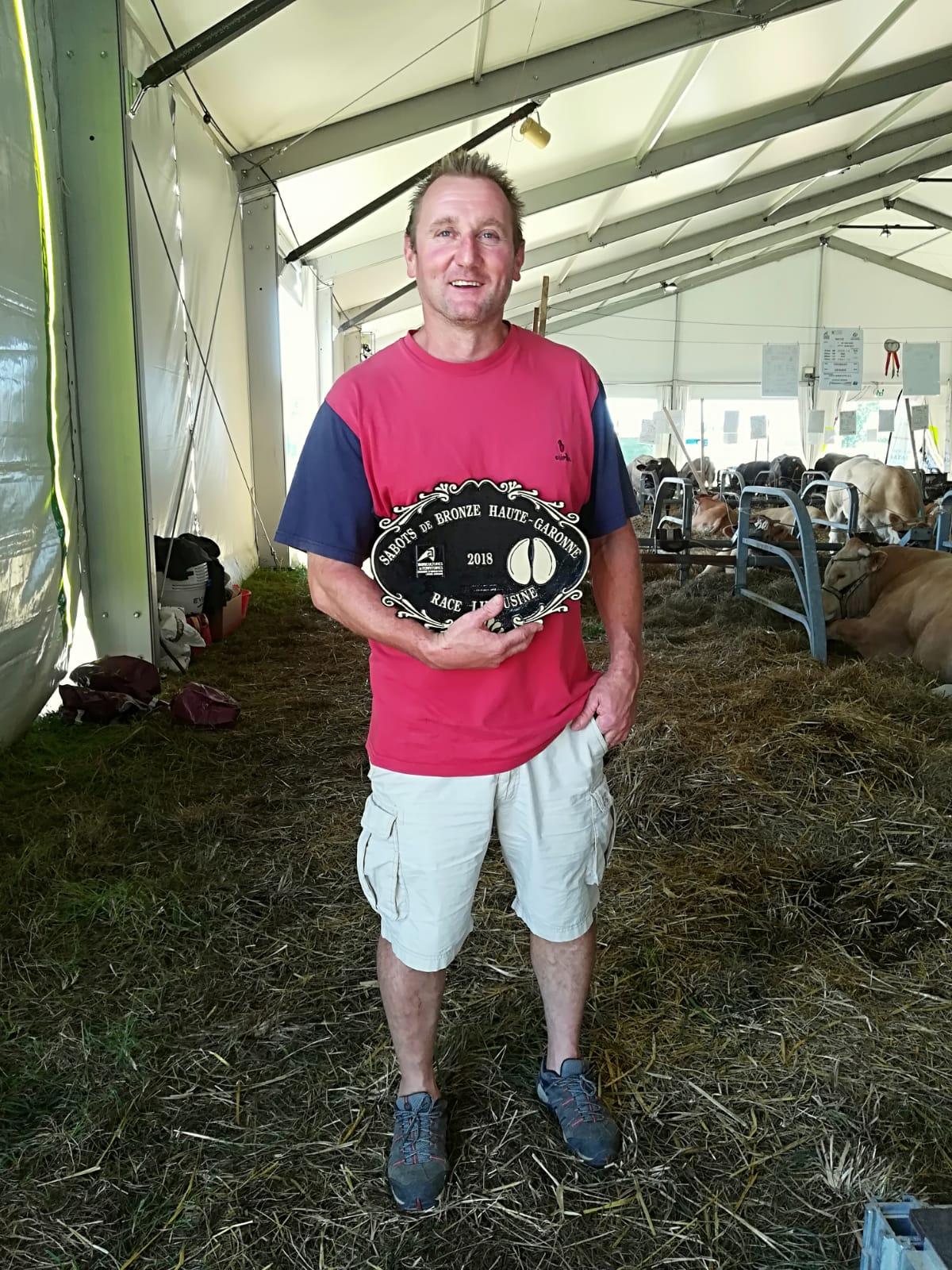Le bronze pour Thierry Rouilhet, éleveur saubenois !