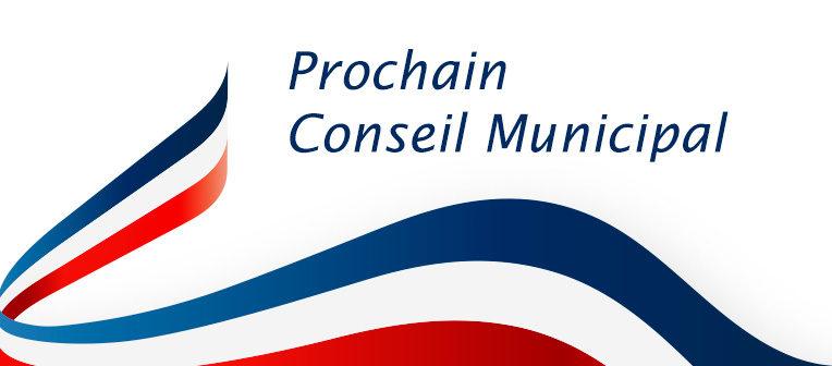 Conseil municipal - mardi 11 mai 18h