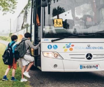 TRANSPORT SCOLAIRE : arrêt chemin de Pins